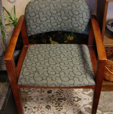 2-Modern Arm Chairs Priced Separate