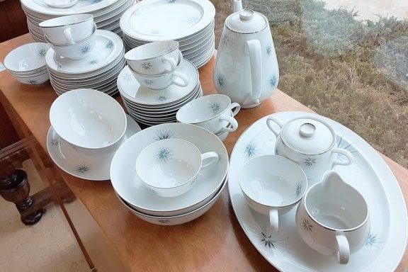1950s Retro China Set