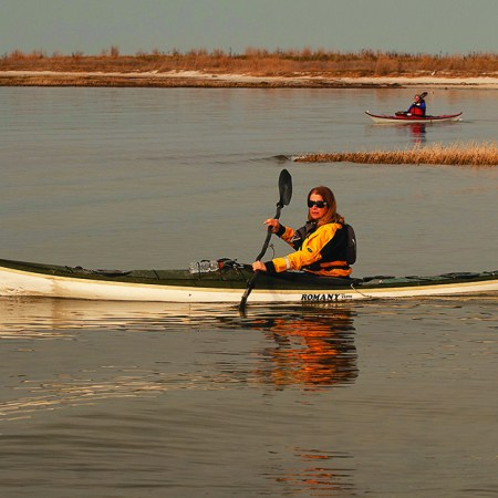 Paddling safety needs extra attention in spring, when the air temperature warms but the water temperature can still pose risks. (Dave Harp)