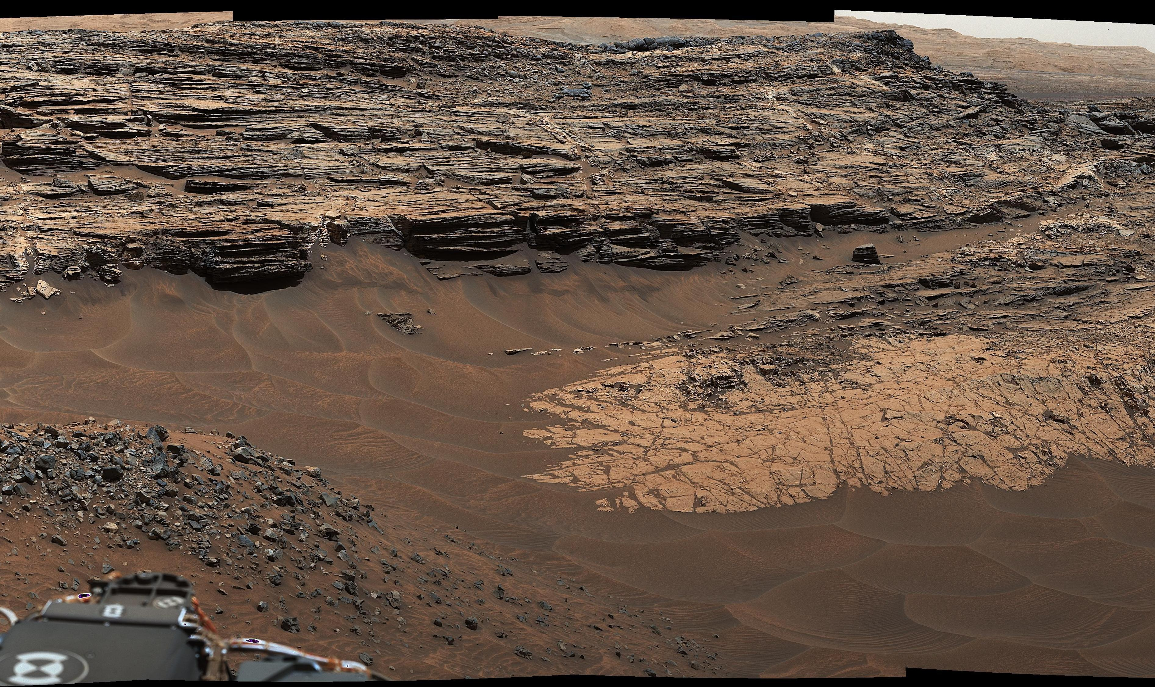 Curiouser And Curiouser NASA s Curiosity Rover Finds Piles