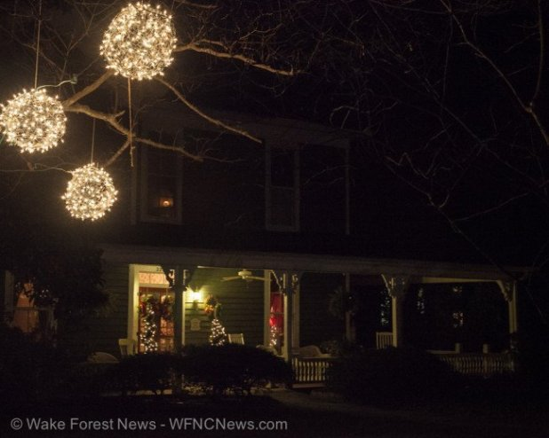 Wake Forest Pawnbroker Holiday Lights