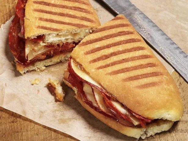 A Wake Forest Public Service Panini is both tasty and easy to hold while writing citations.
