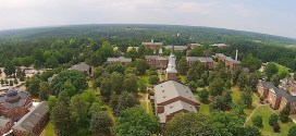 Aerial Wake Forest – Southeastern Baptist Theological Seminary