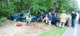 Head-On Collision on New Light Road. Stony Hill FD & Wake EMS.