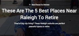 Wake Forest Rated Second Best Place to Retire Near Raleigh