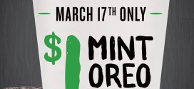$1 Mint Oreo Shakes Today at PDQ