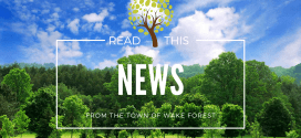 Town of Wake Forest postpones March 17 Board of Commissioners Meeting
