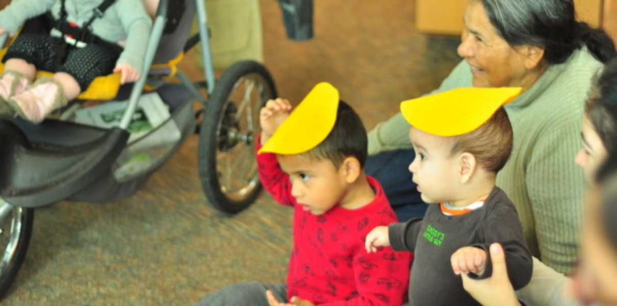 Library Story Time programs at wfol.org