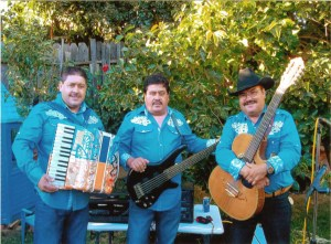 Los Tres de Winters at the Gazebo in Winters July 9