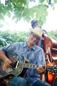 Arann Harris and the Bad Farmers at the Gazebo in Winters July 30