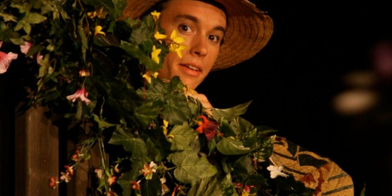 Andrew Fridae, director of this year's Winters Shakespeare Workshop, performing as Prospero in a much earlier WSW production of 'The Tempest'.