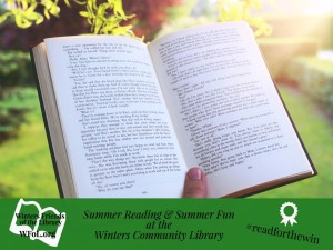 Winters Community Library Summer Reading Schedule