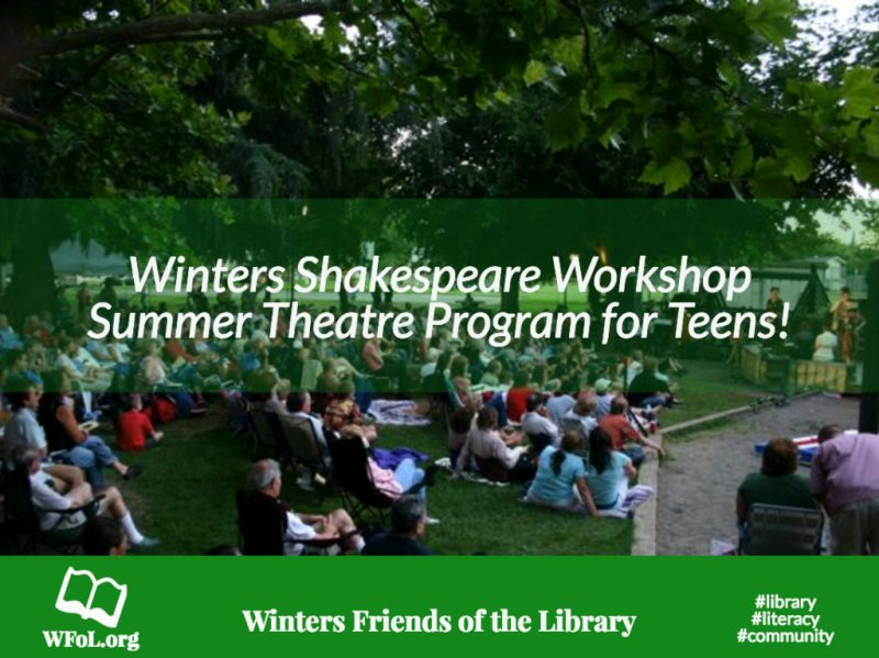 Winters Shakespeare Workshop, WFoL.org. Photo by Woody Fridae