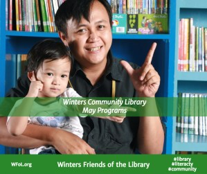 Programs at the Winters Community Library in May