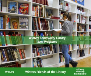 Programs at the Winters Community Library in June