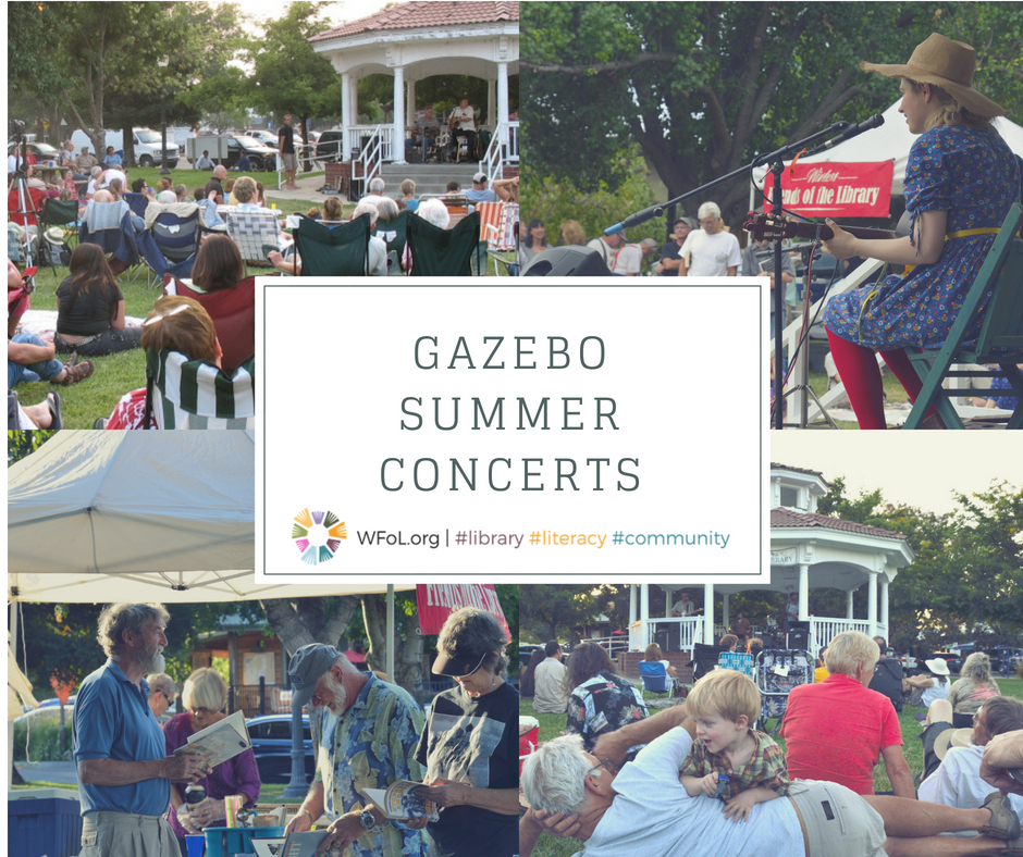 2018 Winters Friends of the Library Gazebo Summer Concert
