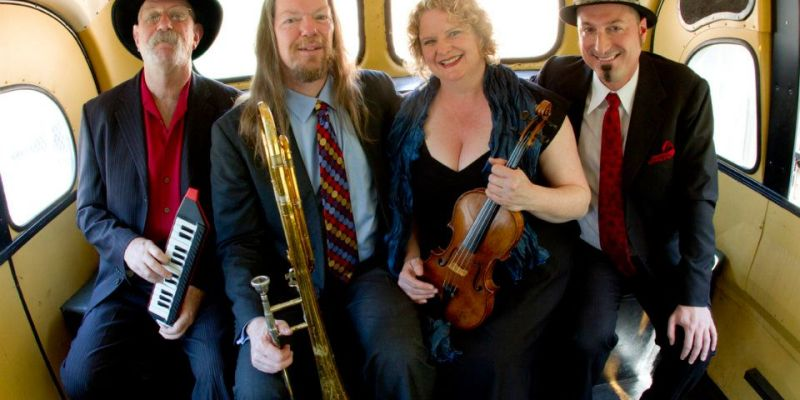 Tango No. 9 will present a free outdoor performance on Thursday, July 19, at 7:00 p.m. at the Rotary Park Gazebo in Winters, as part of the Winters Friends of the Library summer concert series.