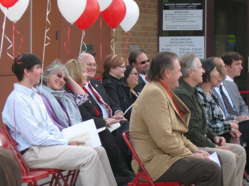 Winters Community Library Grand Opening 2009, Dedication Ceremony. Photo credit J. Pierre Stephens