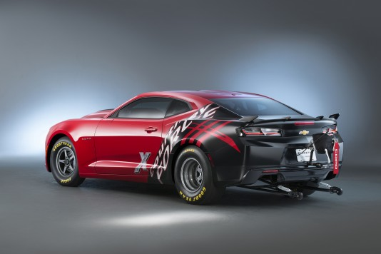 Chevrolet will build 69 of the factory race cars in 2016, extending the production legacy that began in 2012 with the fifth-generation Camaro. Like the previous editions, the new COPO Camaro is designed for NHRA's Stock and Super Stock Eliminator classes.