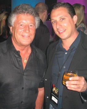 Joe and Mario Andretti