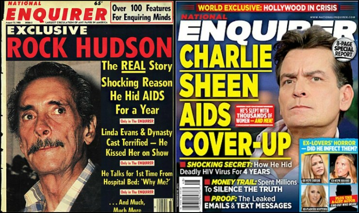 Similar covers, thirty years apart.