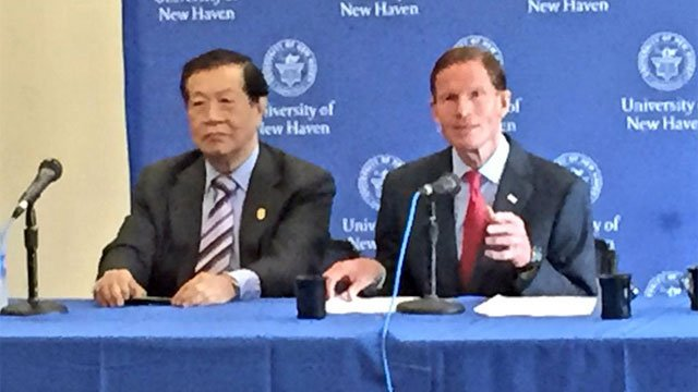 U.S. Sen. Richard Blumenthal and forensic specialist Henry Lee probing forensic evidence standards. FBI admits 257 wrongly convicted of violent crimes. (WFSB)