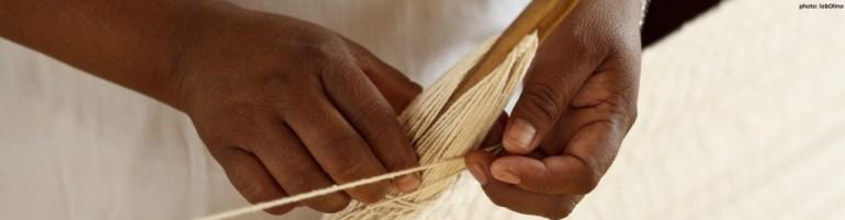 Weben einer Hängematte, Maxcanu, Mexiko (FHdMM, WFTO)