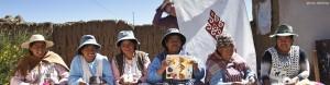 Kunsthandwerkerinnen, La Paz, Bolivien (Ayni, WFTO)