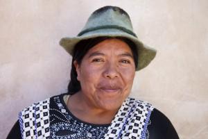 Kunsthandwerkerin, La Paz, Bolivien (Ayni, WFTO)