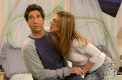 Vänner Kanal 5, På bilden: David Schwimmer som Ross & Jennifer Aniston som Rachel. Bildkälla: Warner Bros Org. titel: Friends Prod.år: 2004