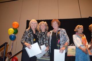 AWA Signature Members with Lynda Buress