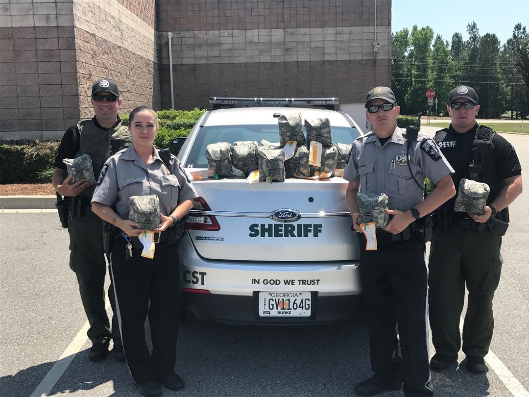Burke Co. deputies issued new trauma med kits - KWES ...