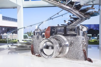 11-a-leica-camera-sculpture-valued-at-approximately-1-million-sits-in-the-dining-room