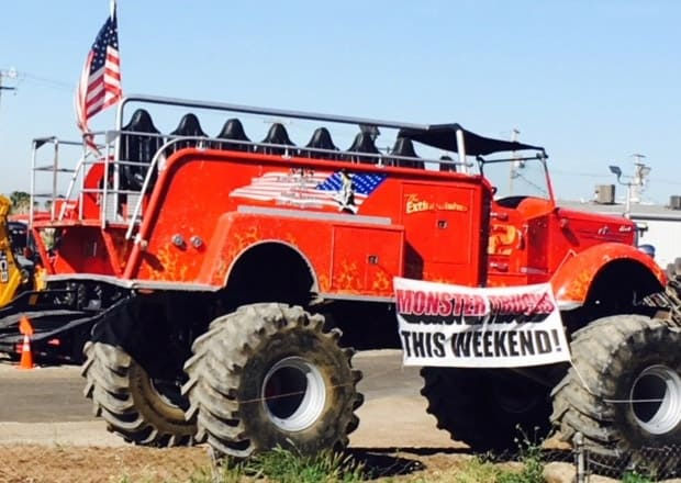 extinguisher monster ride truck wgas motorsports
