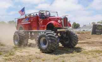 Extinguisher Monster Ride Truck