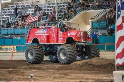 Extinguisher Monster Ride Truck