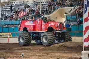 Extinguiser Monster Ride Truck