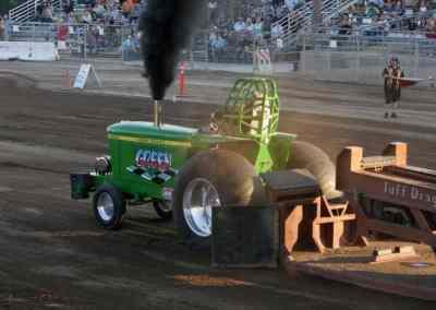 Green Machine Tractor Pull Stanislaus County Fair