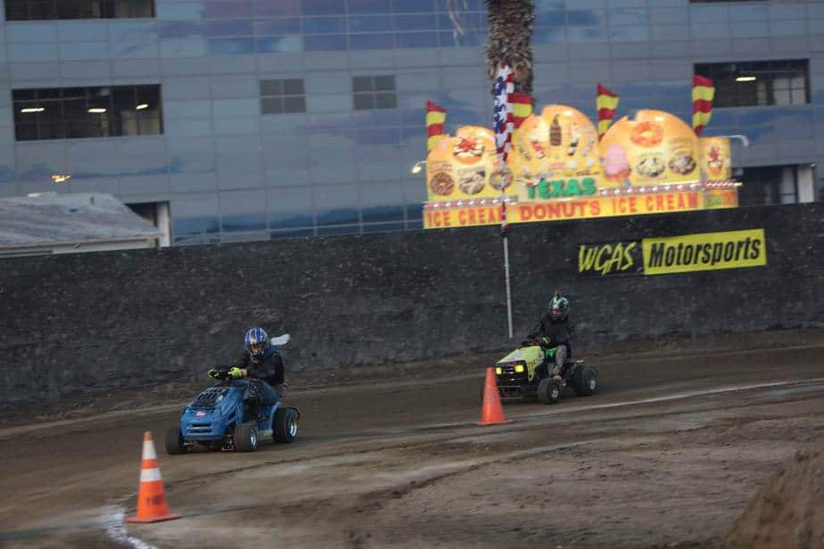 lawn mower racing wgas indio ca 2