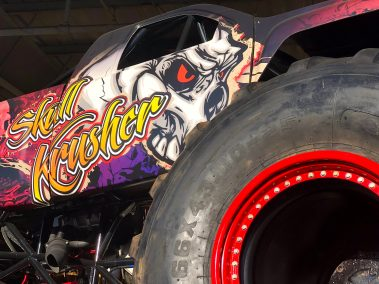 Skull Krusher Monster Truck Hot Rod Drive-Thru Adventure