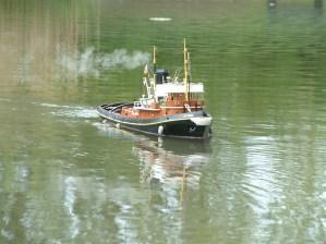 """Steam Tug """"Cruiser"""""""