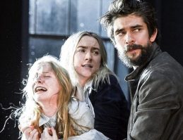 "Elizabeth Teeter performed the Broadway show ""The Crucible"" with actors Saoirse Ronan and Ben Wishaw. Photo from Elizabeth Teeter"