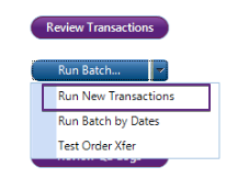 This allows you to run new transactions