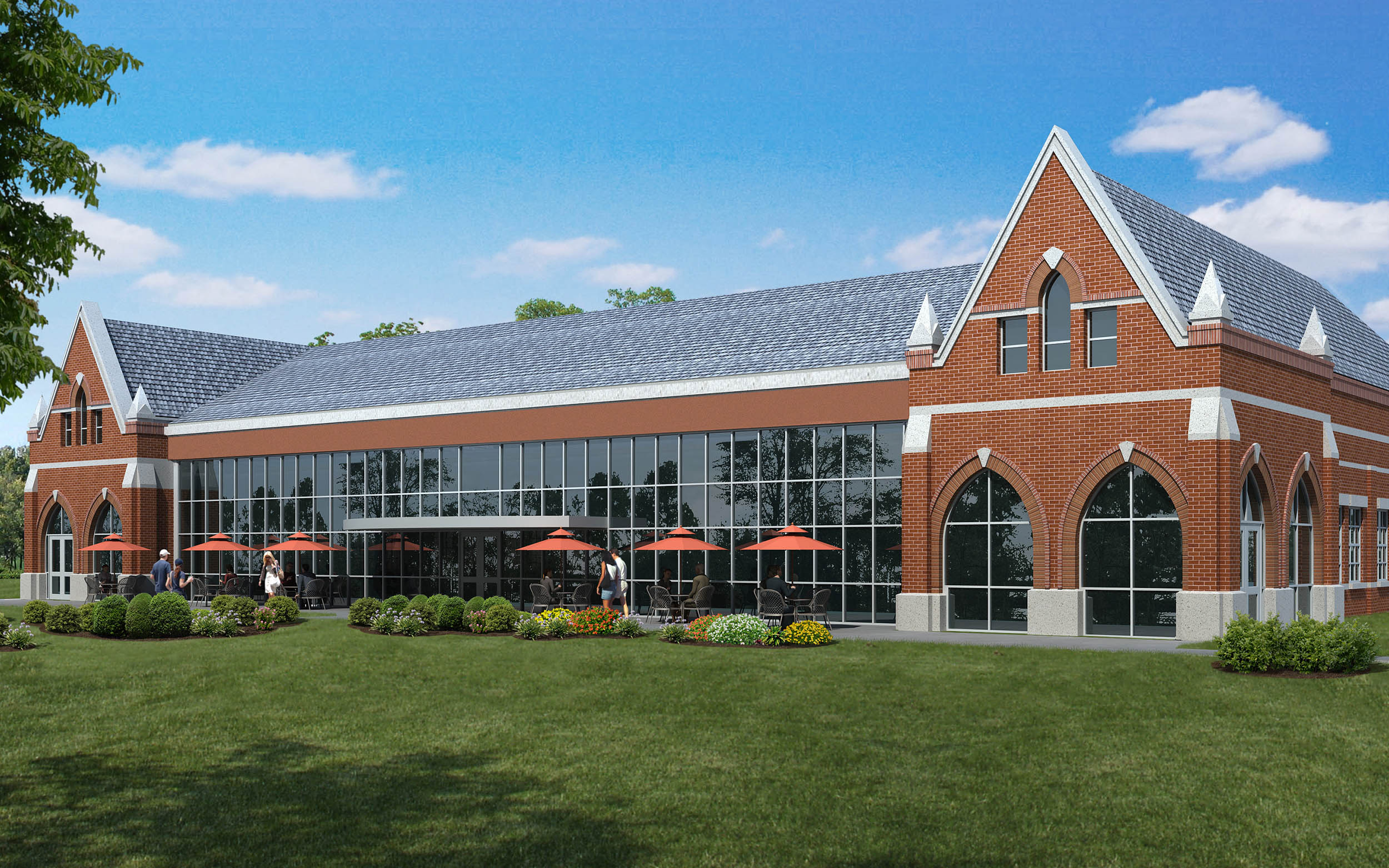 Belmont Abbey College Dining Hall