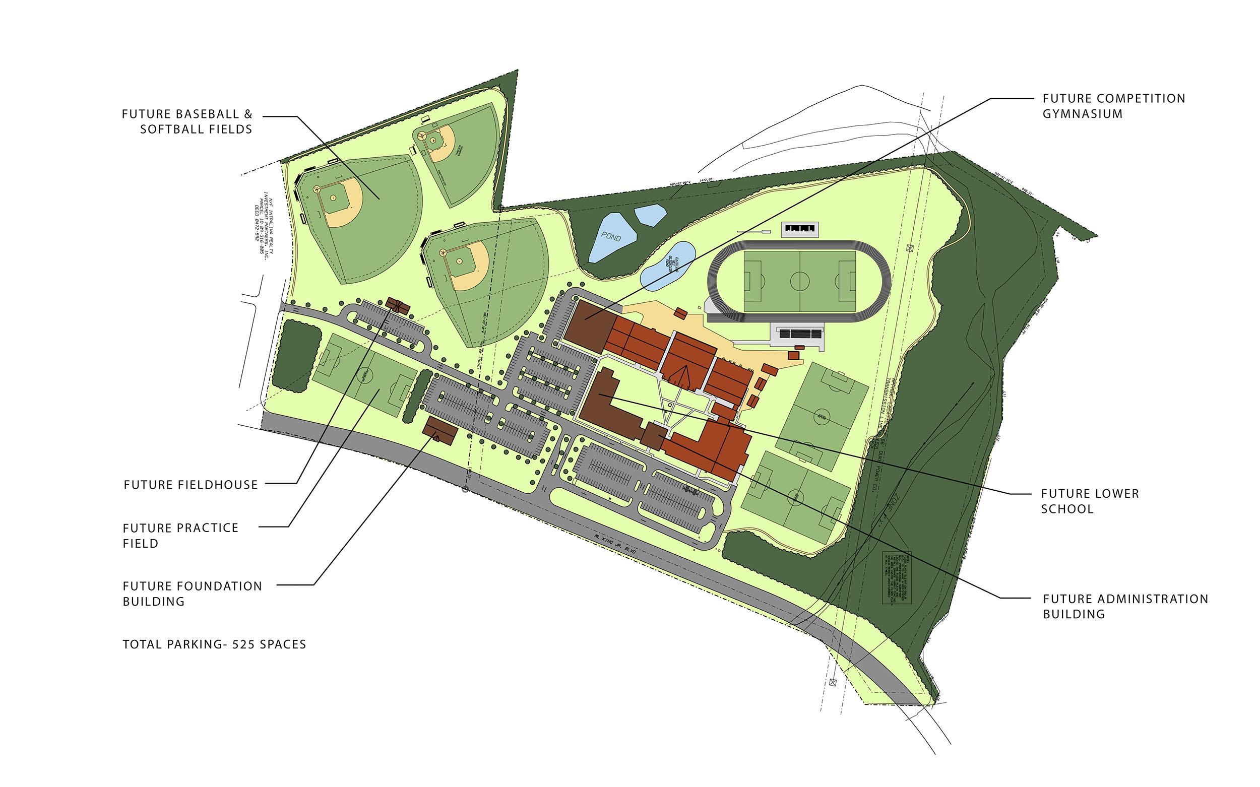 Union Academy Masterplan