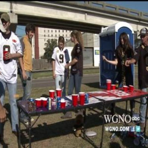 Tailgating with the New Orleans Saints