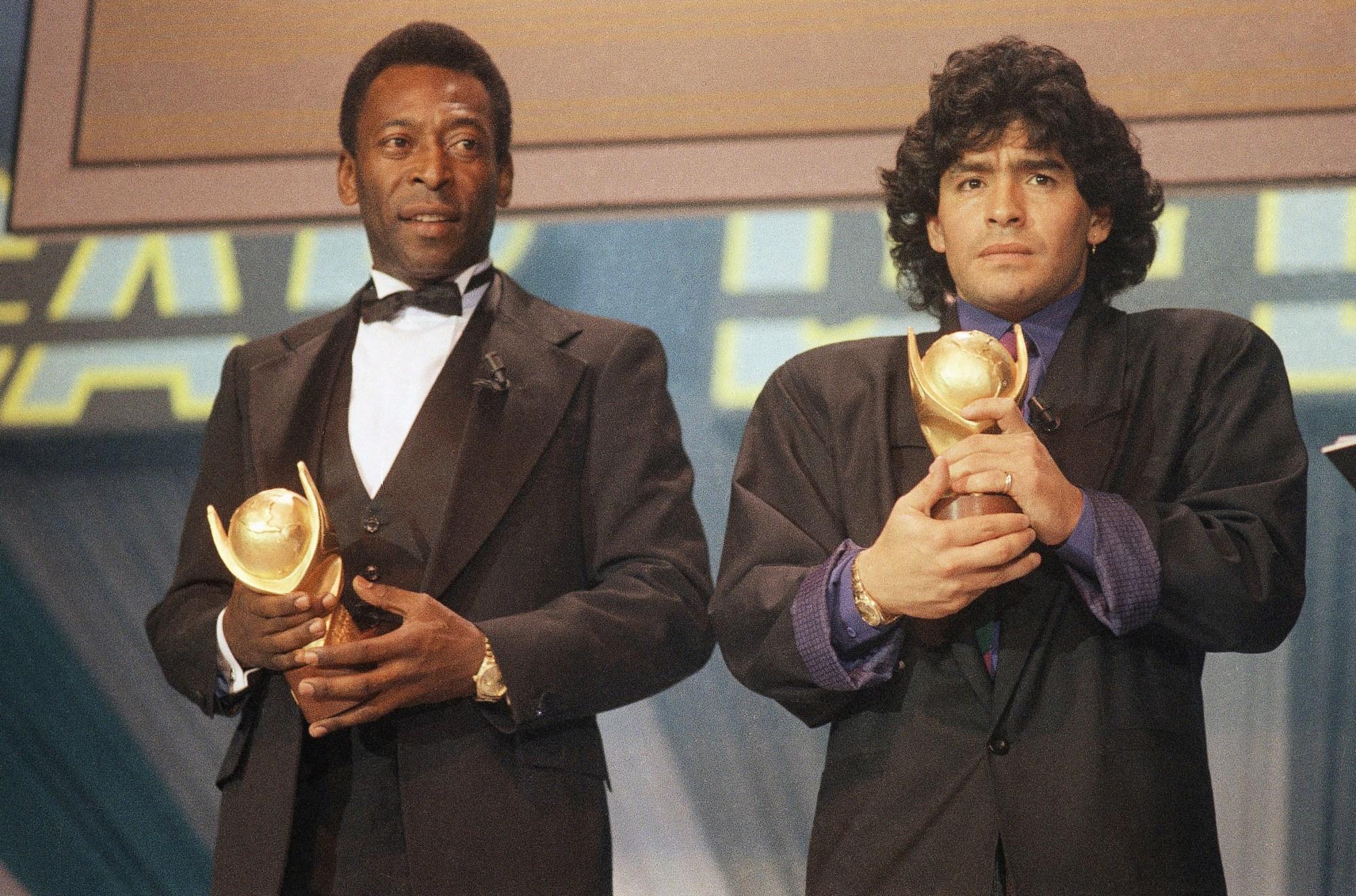 Pele, Diego Maradona