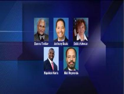 Candidate field filling for Jackson Jr seat