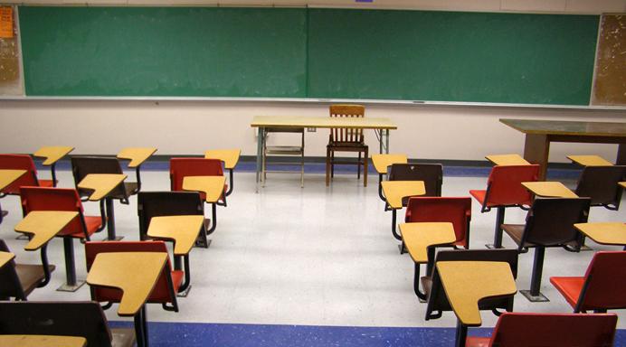 School Empty Classroom