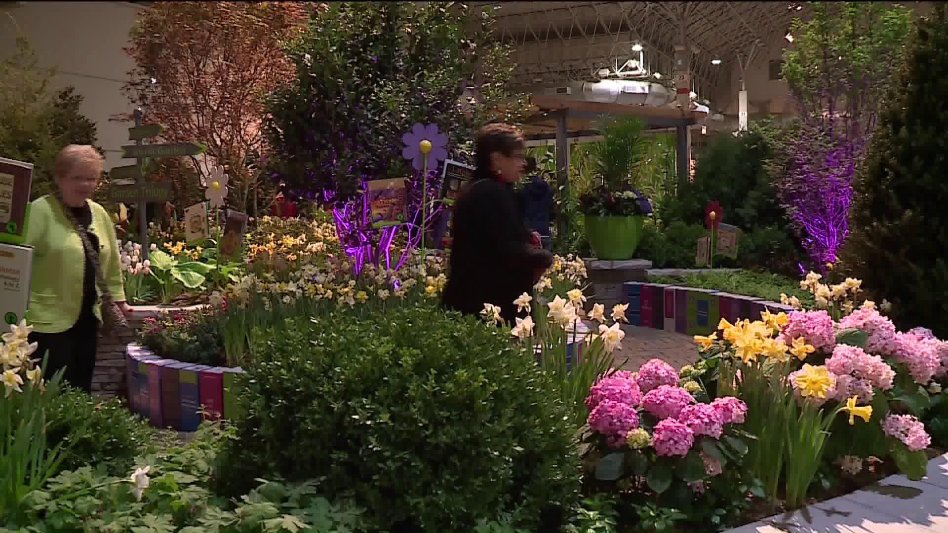 Chicago Flower Garden Show Returns To Navy Pier Wgn Tv